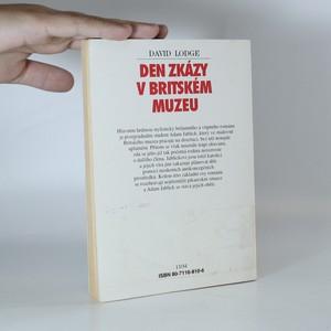 antikvární kniha Den zkázy v Britském muzeu, 1995