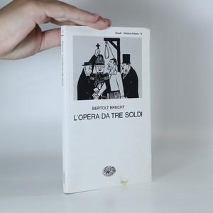 náhled knihy - L'opera da tre soldi