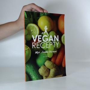 náhled knihy - Vegan recepty (věnování a podpis autorky)