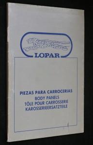 náhled knihy - Piezas para carrocerias, Lopar