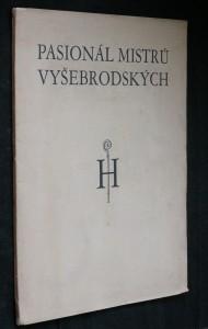 náhled knihy - Pasionál Mistrů Vyšebrodských