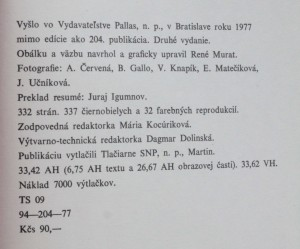 antikvární kniha Kresba 19. storočia na Slovensku, 1977