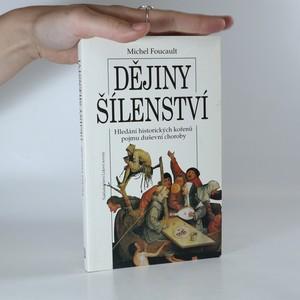 náhled knihy - Dějiny šílenství