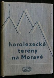 náhled knihy - Horolezecké terény na Moravě
