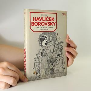 náhled knihy - Vojna s hloupostí a zlobou (poškozená)