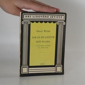 náhled knihy - Jak je důležité mít filipa
