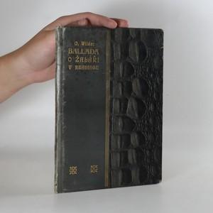 náhled knihy - Ballada o žaláři v Readingu
