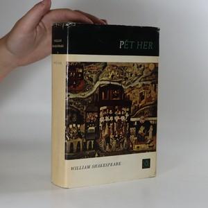 náhled knihy - Pět her. Richard III. Sen svatojanské noci. Večer tříkrálový. Hamlet. Král Lear.