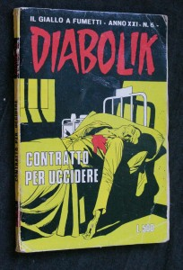 náhled knihy - Diabolik contratto per uccidere