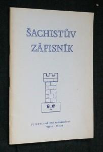 náhled knihy - Šachistův zápisník