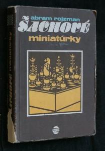 náhled knihy - Šachové miniatúrky