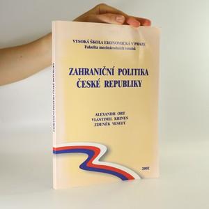 náhled knihy - Zahraniční politika České republiky