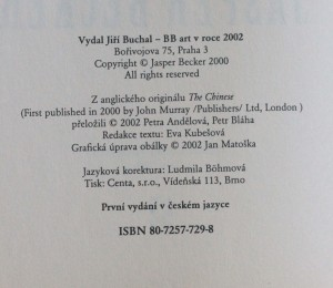 antikvární kniha Čína na přelomu století, 2002