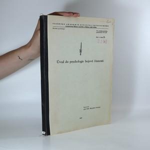 náhled knihy - Úvod do psychologie bojové činnosti