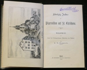 antikvární kniha Fünfzig Jahre der Pilgermission auf St. Chrischona. 1840 - 1890, 1890