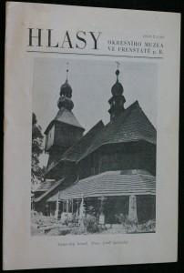 náhled knihy - Hlasy okresního muzea ve Frenštátě p. R. 1959 - 2 (19)