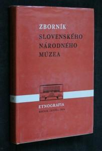 náhled knihy - Sborník slovenského národného múzea