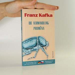 náhled knihy - Proměna. Die Verwandlung.