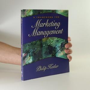 náhled knihy - A framework for marketing management