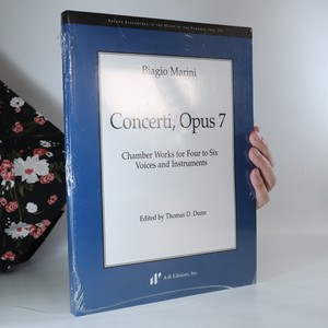 náhled knihy - Concerti, opus 7. Chamber works for four to six voices and instruments (zabalená kniha)