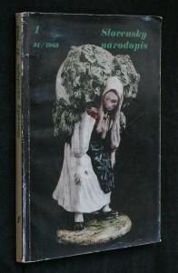 náhled knihy - Slovenský národopis
