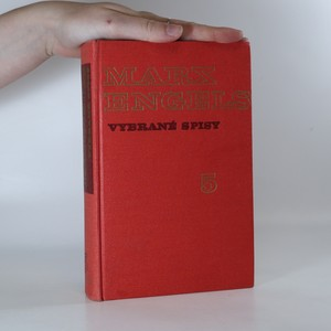 náhled knihy - Marx, Engels. Vybrané spisy. Svazek 5