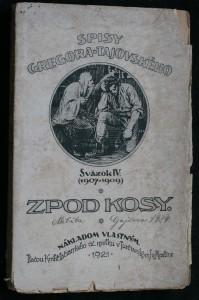 náhled knihy - Zpod kosy