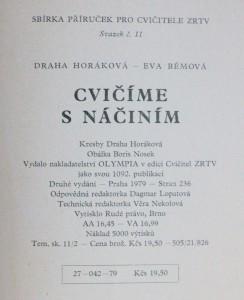 antikvární kniha Cvičíme s náčiním, 1979