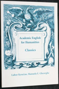 náhled knihy - Academic English for humanities. Classics