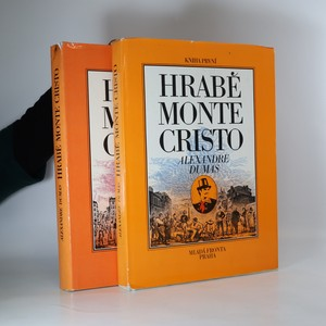 náhled knihy - Hrabě Monte Cristo. Díl I-II (2 svazky, komplet)