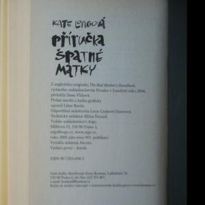 antikvární kniha Příručka špatné matky, 2005