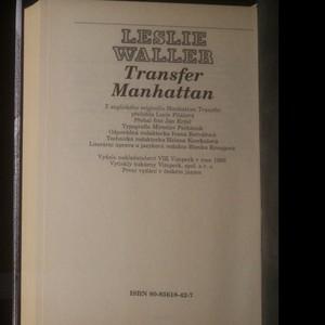 antikvární kniha Transfer Manhattan, 1995