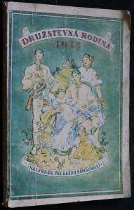 náhled knihy - Družstevná rodina 1945 , kalendár pre každú domácnosť