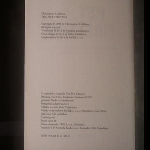 antikvární kniha Pět Tibeťanů, 2016