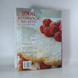 antikvární kniha 1000 klasických receptů z celého světa, 2000