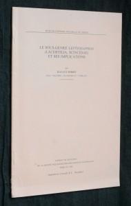 náhled knihy - Le sous-genre Leptosiaphos (lacertilia, scincidae) et ses implications
