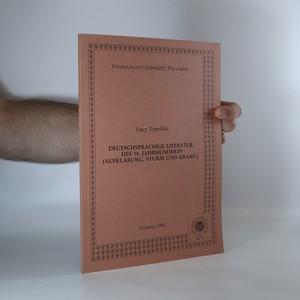 náhled knihy - Deutschsprachige Literatur des 18. Jahrhunderts (Aufklärung, Sturm und Drang)