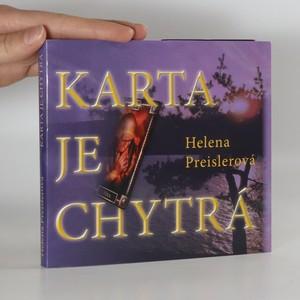 náhled knihy - Karta je chytrá (věnování autorky)