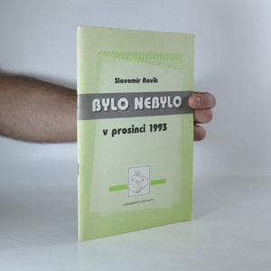 náhled knihy - Bylo nebylo v prosinci 1993