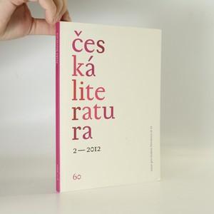 náhled knihy - Česká literatura 2/2012