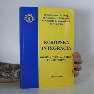 náhled knihy - Európska integrácia