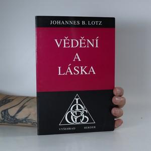 náhled knihy - Vědění a láska