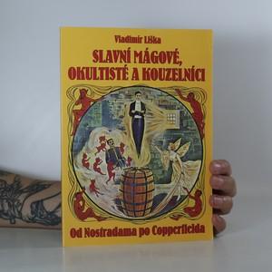 náhled knihy - Slavní mágové, okultisté a kouzelníci