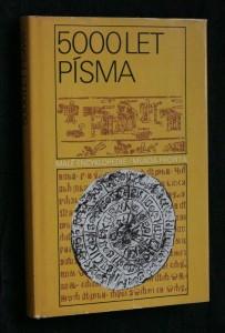 náhled knihy - 5000 let písma
