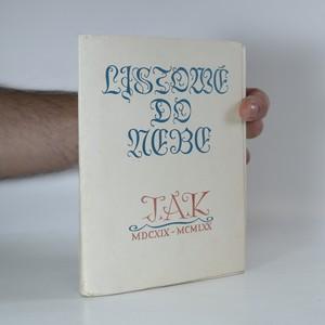 náhled knihy - Listové do nebe