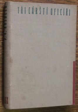 náhled knihy - Tři carští oficíři