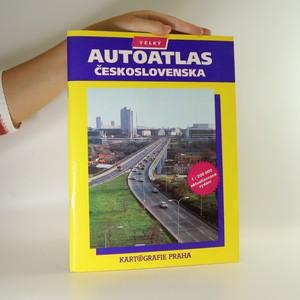 náhled knihy - Velký autoatlas Československa