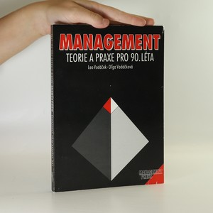 náhled knihy - Management. Teorie a praxe pro 90. léta