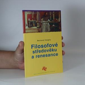náhled knihy - Filosofové středověku a renesance