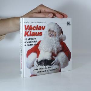 náhled knihy - Václav Klaus ve vtipech, anekdotách a hádankách